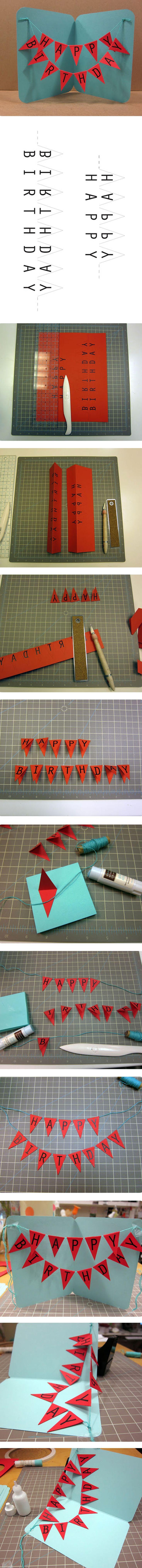 Tegenwoordig sturen wij nog maar weinig verjaardagskaartjes. Toch is het heel leuk om op heel originele wijze een kaartje te maken. Op www.budgi.nl staan alle tips voor een leuke verjaardagskaart. #verjaardag #ballon #origineel #creatief #diy #budget #lijm #papier #karton #budgi