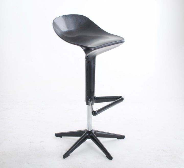 Bar Stool Bendy Black | Vintage Vista