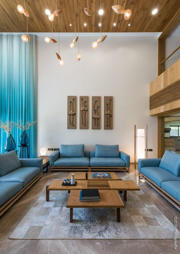 Screen House By The Grid Architects In Ahmedabad India Living Room Sofa Design Home Room Design Bedroom Design
