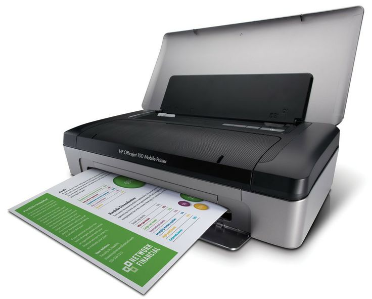 HP Officejet 100 Mobile Printer AED 859