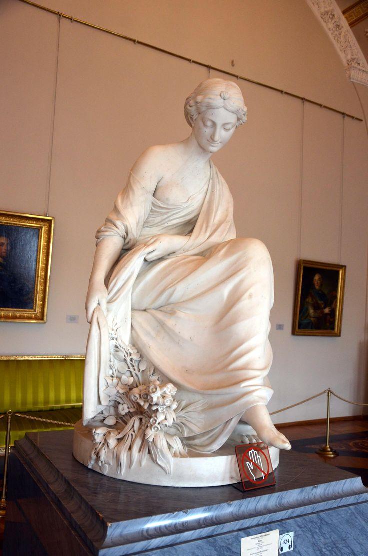L'Hiver par Etienne-Maurice FALCONET - 1771 - Palais de l'Ermitage à Saint-Pétersbourg - Photo : Hervé Leyrit©