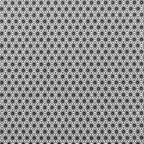 Estampado geométrico preto e branco perfeito para combinações decorativas diferentes e arrojadas. Ideal para almofadas, cortinas e muito mais.