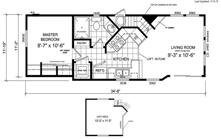 17 Best Images About Floor Plans On Pinterest Mobile Home Floor Plans Guest Cabin And Single Wide