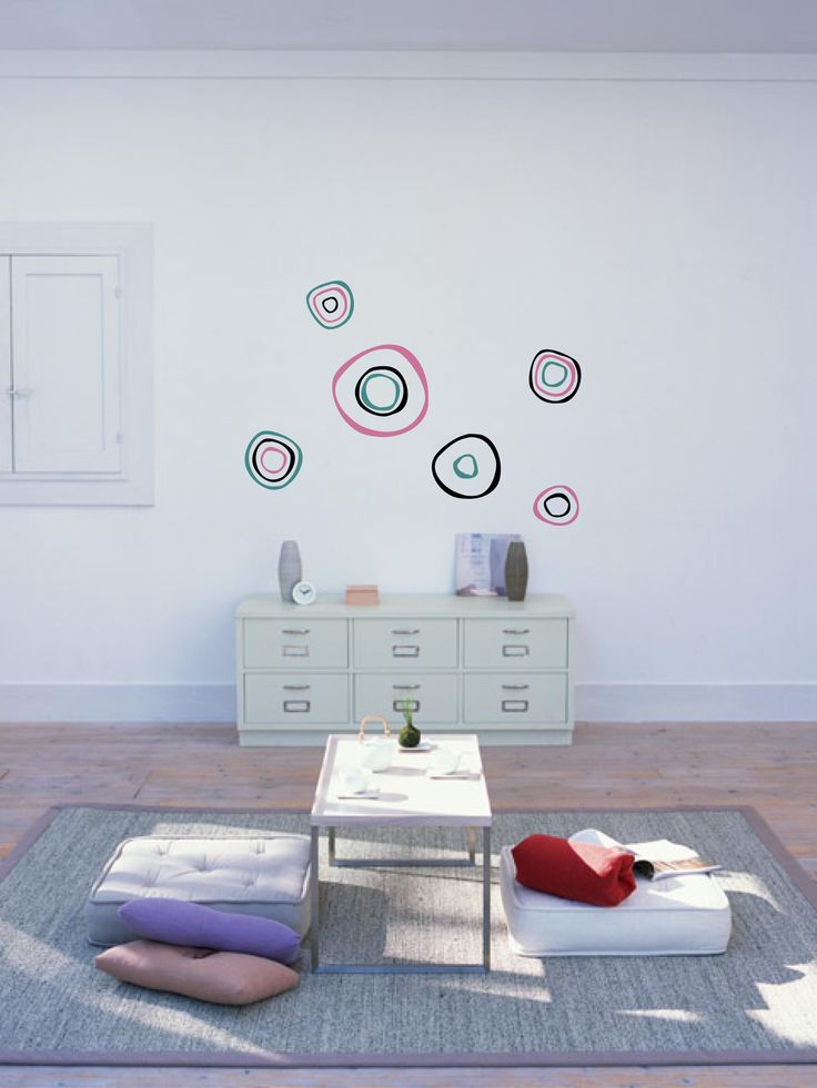 Sticker Abstract Circle