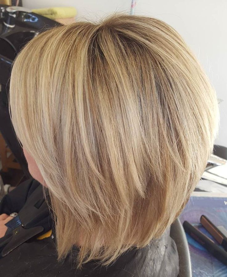 Two tiered bob...idea for my hair?