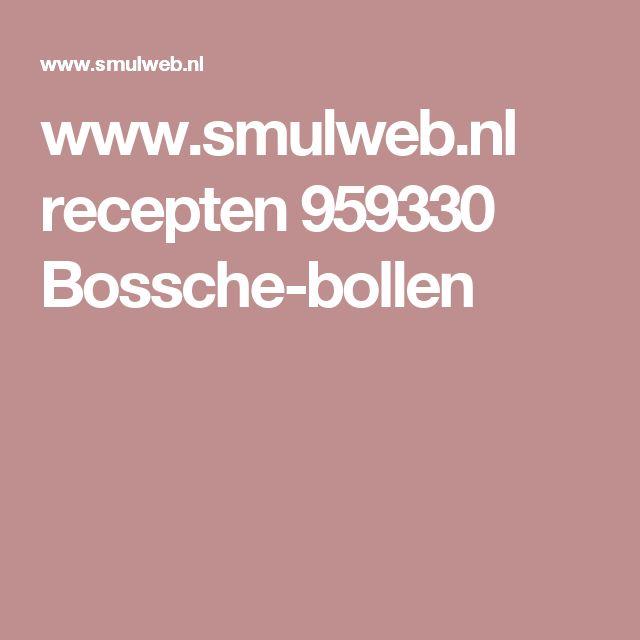 www.smulweb.nl recepten 959330 Bossche-bollen