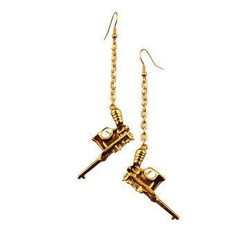 //: Country Girl, Tupac Earrings, Earrings Guns, Jewelry, Earrings Heck, Ak Earrings, Bang Bang
