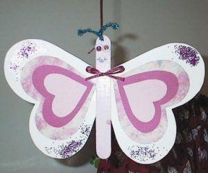 heart butterfly craft idea