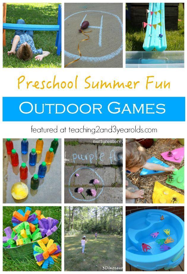 Outdoor Games for Preschoolers