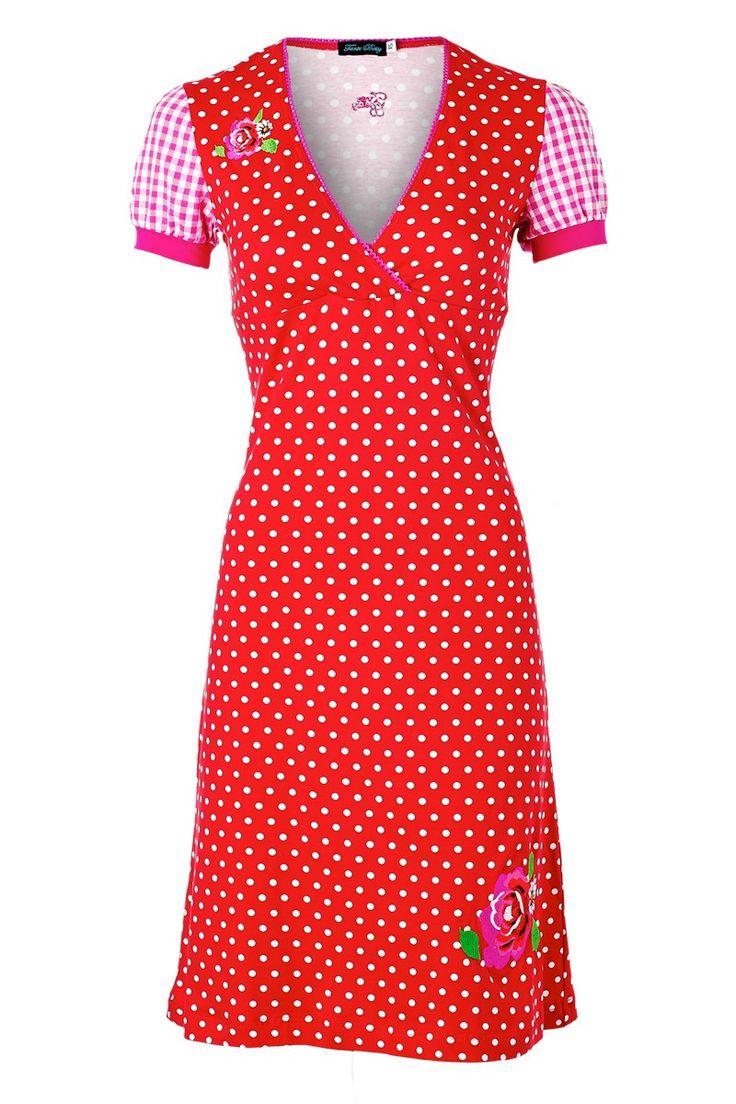 Tante Betsy polkadot jurke