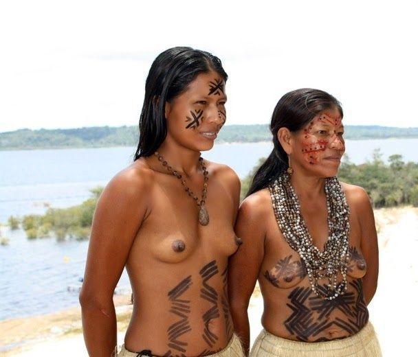 Teenager real nude brazilian tribal women