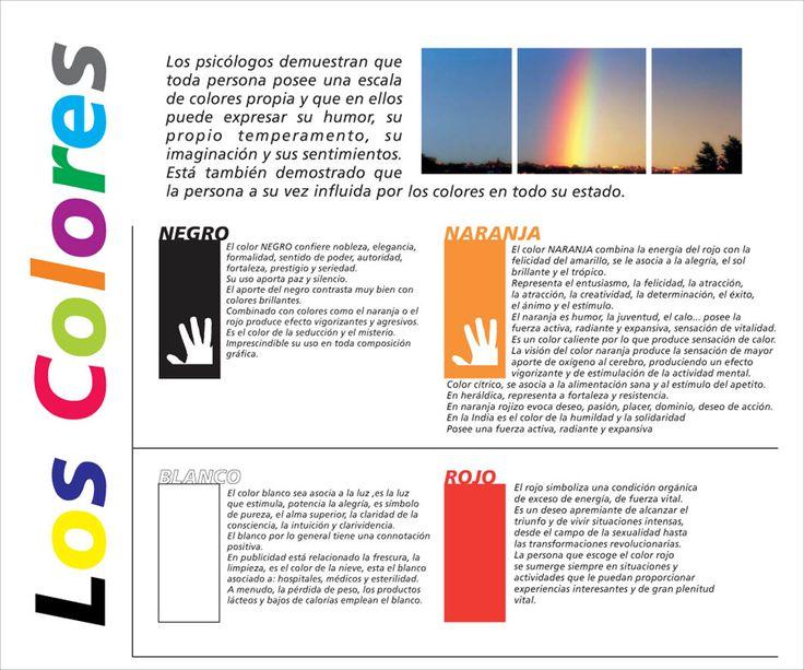 Significado De Los Colores Parte 1 Color Imagenes