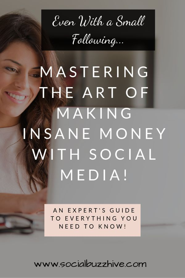 Mastering the Art of Making Insane Money With Social Media – Even With a Small F… – SocialBuzzHive.com