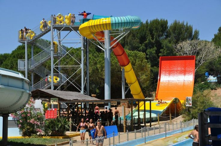 Turbolance at Aqualand St.Syr. Surmer, France