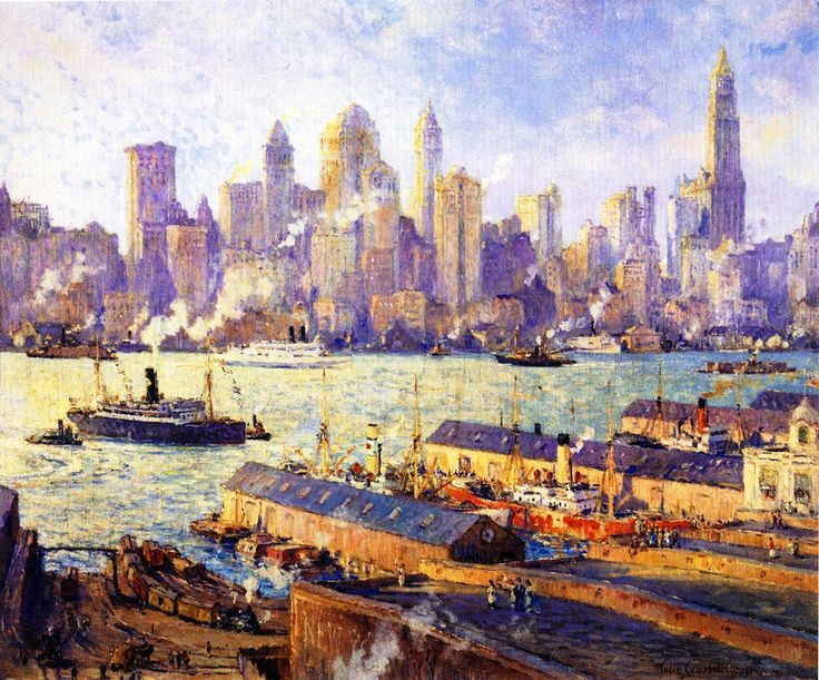 Best Colin Campbell Cooper Images On Pinterest Colin O - City skylines turned into geometric metropolises by scott uminga