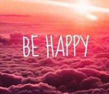 Вдохновляющая картинка быть счастливым, облака, счастливые, розовый, закат, 2853737 - Размер 500x746px - Найдите картинки на Ваш вкус