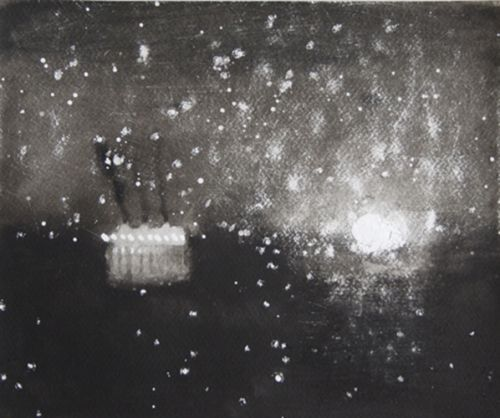 The Late Departure | Watercolour on paper | Size 25cm x 30cm