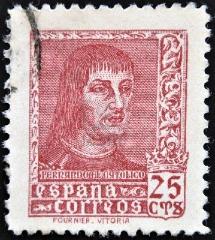 Sello de correos (España), hacia 1960