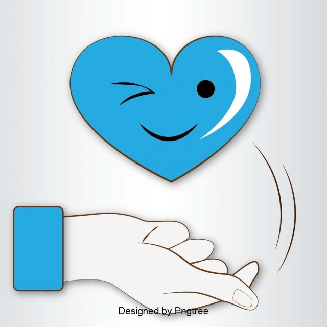Blue Heart Shaped Cute Expression Than Heart Gesture Elements Heart Icons Cute Icons Blue Icons Png And Vector With Transparent Background For Free Download Blue Heart Heart Icons Cute Icons