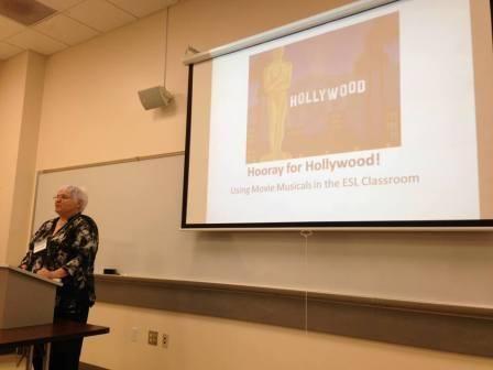 Presenting at the San Francisco State University MA TESOL Conference May 2, 2014