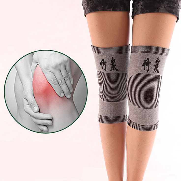 1 Piece Knee Protector Autumn and Winter Elasticity Breathable Knee Pads Relief Prevent Arthritis Knee Guard Sports Knee Support -- Click the VISIT button to enter the website