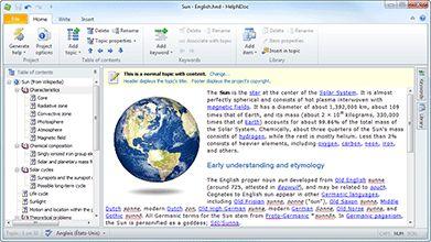 HelpNDoc | HTML help authoring tool, Word, PDF and eBook documentation generator