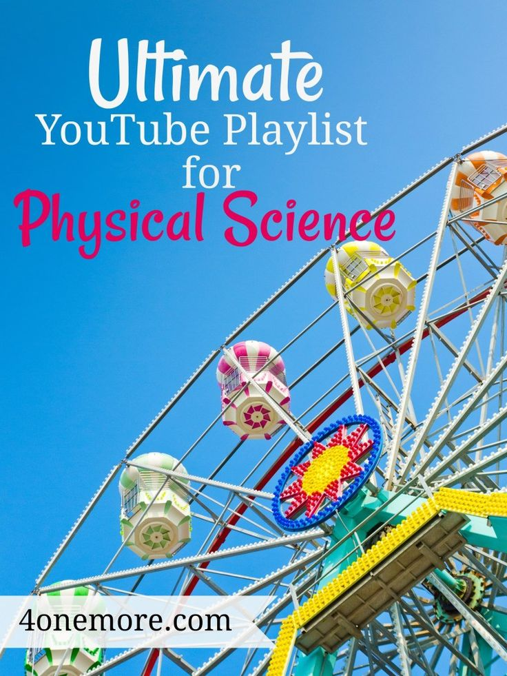 Final YouTube Playlist for Excessive Faculty Bodily Science