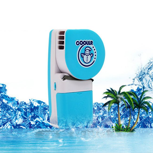 Mini Portable Hand Held Air Conditioner Cooler Fan Runs On Batteries Or USB Ar Condicionado Pack of 10 GLTH00443