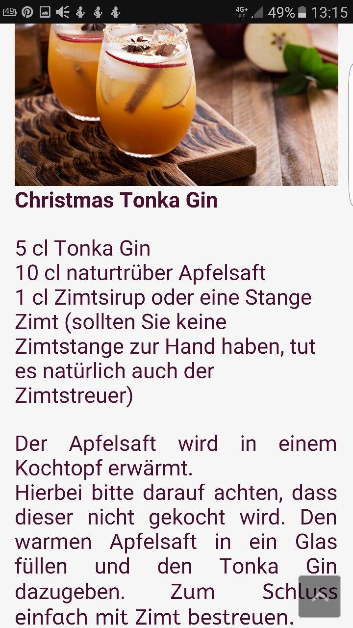Christmas Tonka gin