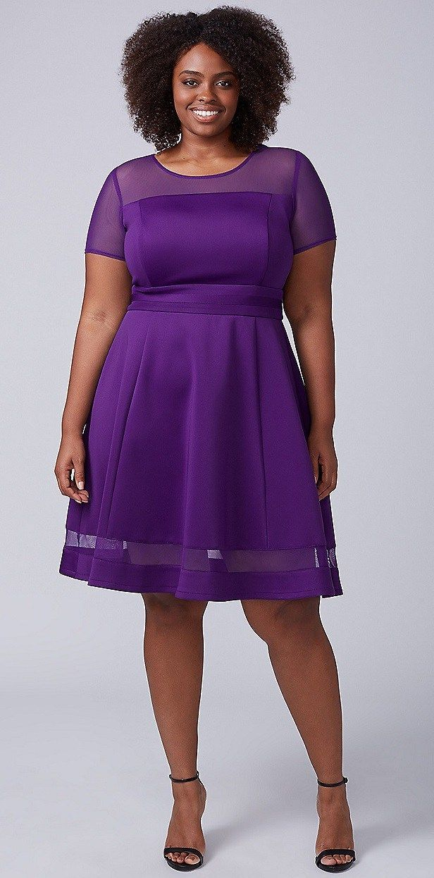 1253 best vestidos para gorditas images on Pinterest   Curvy fashion ...