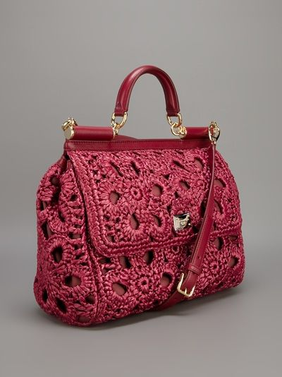 Dolce & Gabbana Crochet Doctor's Bag - Spinnaker 141 - farfetch.com