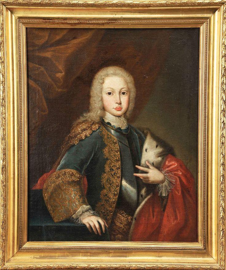 Rei D. José I de Portugal em criança.