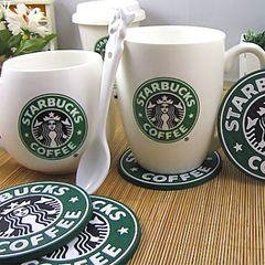 4 юаней доставки Starbucks Starbucks LOGO классический замороженный кофе сверху снег подставок скольжения