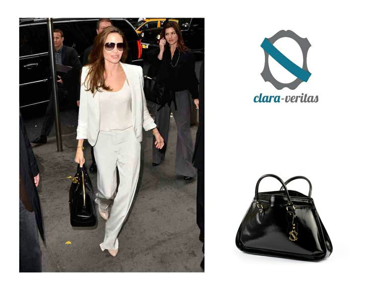 Angelina Joli likes it simple! And so do I! :) That's why my bags are simple yet elegant! :)