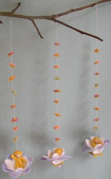 Atelier Pippilotta :: Lente Pakketten :: drie bloemenschommeltjes