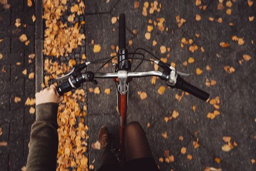 with-grace-and-guts:   almost autumn in the city by Rona Keller    Via Flickr: