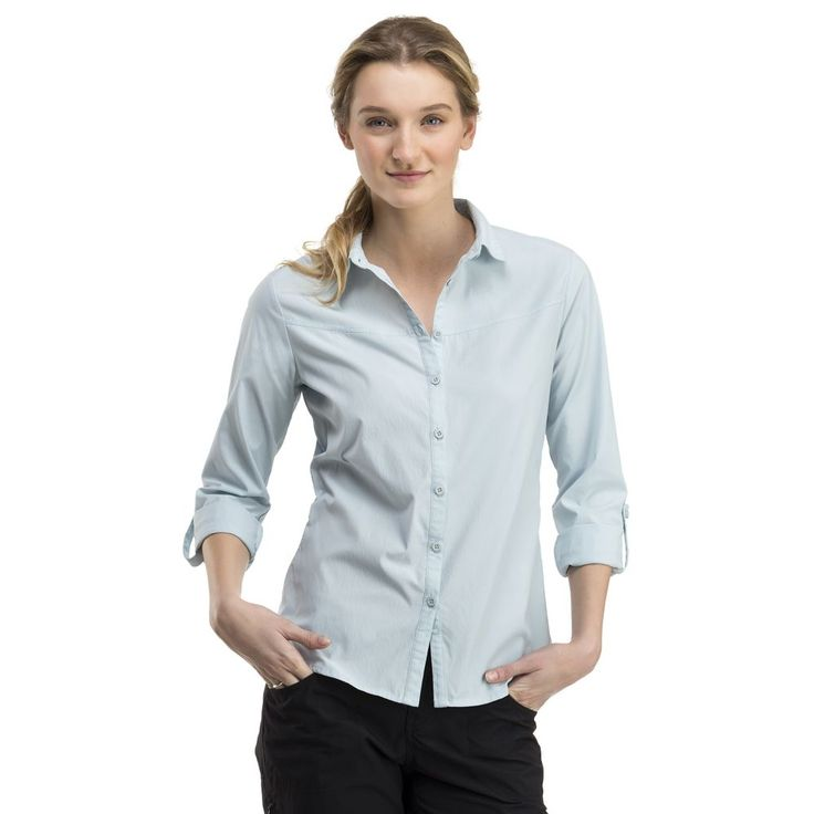 MEC Magnolia Long-Sleeved Shirt (Women's) - Mountain Equipment Co-op. Free Shipping Available