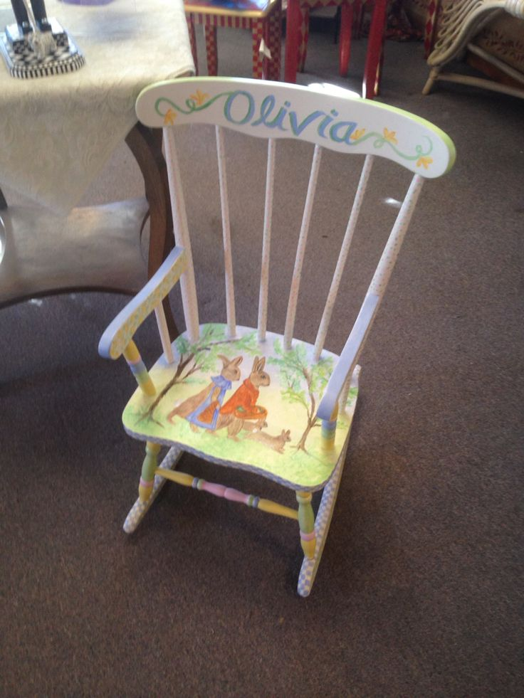 Baby Rocking Chair.