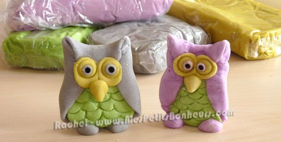 Halloween clay owl craft by Rachel - Mes Petits Bonheurs