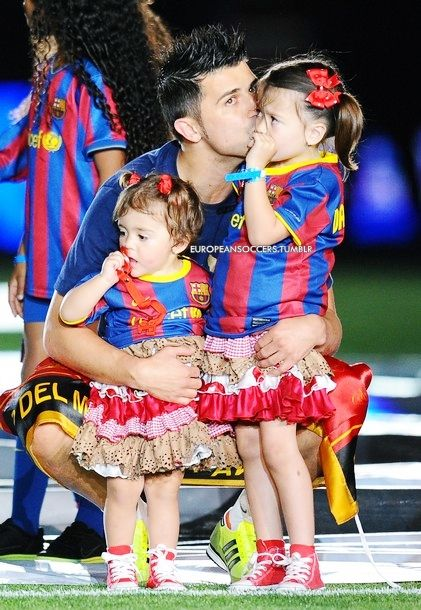 David Villa. So adorable.