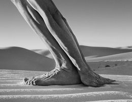 Arno Rafael Minkkinen, 'Hands and Feet, White Sands, New Mexico,' 2000, Willas Contemporary