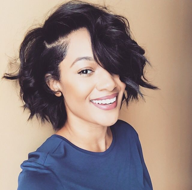 I want to do my hair like this. I have the cut, just need to style.