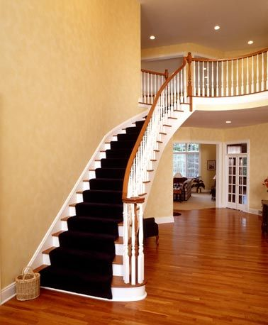 1000 images about curved stairs on pinterest - Stairlift for curved staircase ...