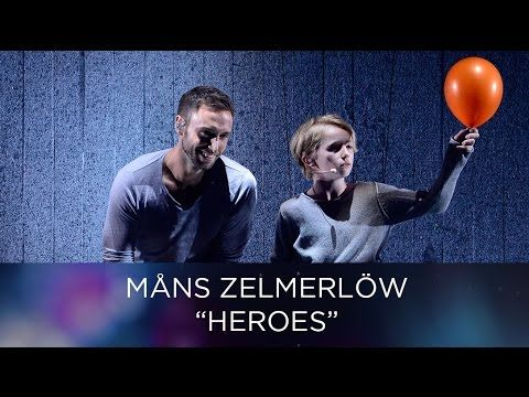 Måns Zelmerlöw – Fire in the Rain & Heroes | Eurovision Song Contest 2016 - YouTube