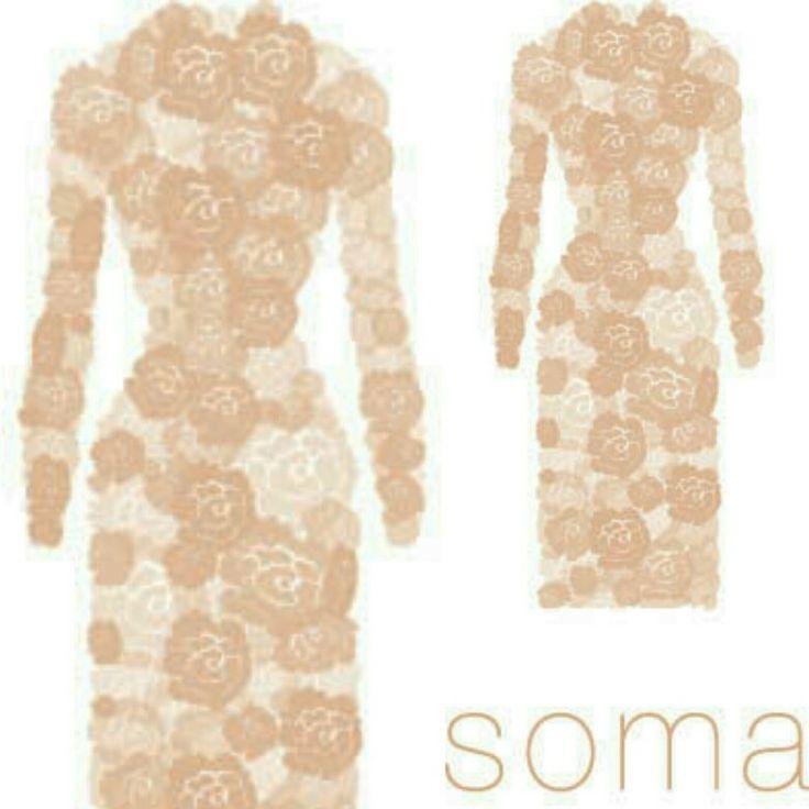 Soma design floral dummy logo