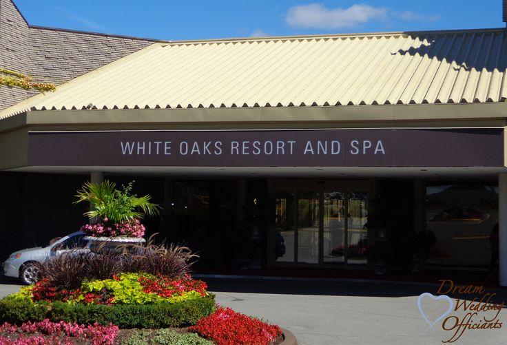 White Oaks Resort & Spa, Niagara on the Lake - Beautiful setting in the Garden.