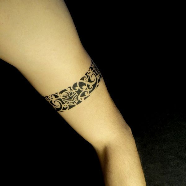Tatouage temporaire Tour de bras Maori