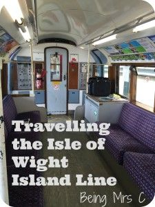 Exploring the Isle of Wight's Island Line and their vintage London Underground tube trains.