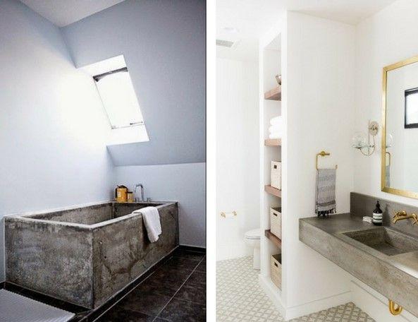 concrete furniture concrete bathrooms with concrete bath tubs and sinks