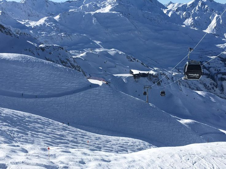 Nieuwe ski lift tussen sankt anton en lech